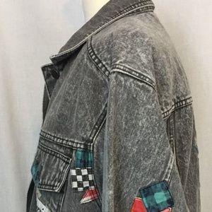 Sergio Valente Jackets & Coats - Sergio Valente L Jacket Black Denim Vintage